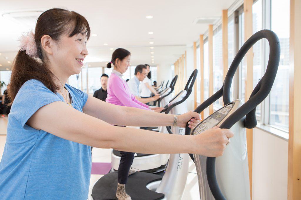 TOKU パワープレート トレーニング